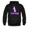 Purple Life of The Party Hoodie - Black - black