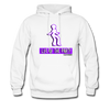 Purple Life of the Party Hoodie - White - white