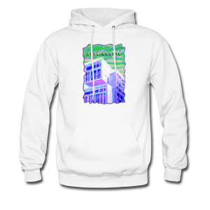 Trippy House Hoodie - white