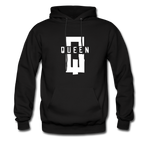 """King ""Couples Hanes Cotton Hoodie - black"