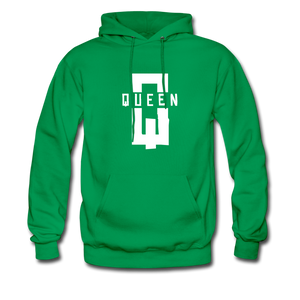 """King ""Couples Hanes Cotton Hoodie - kelly green"