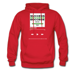 Success Hanes Cotton Hoodie - red