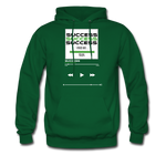 Success Hanes Cotton Hoodie - forest green