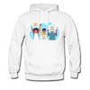Black Lives Matter Kids Sign | Hanes Cotton Hoodie - white