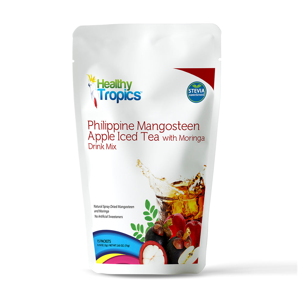 Philippine Mangosteen Apple Iced Tea