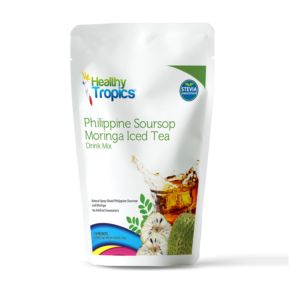 Philippine Soursop Moringa Iced Tea