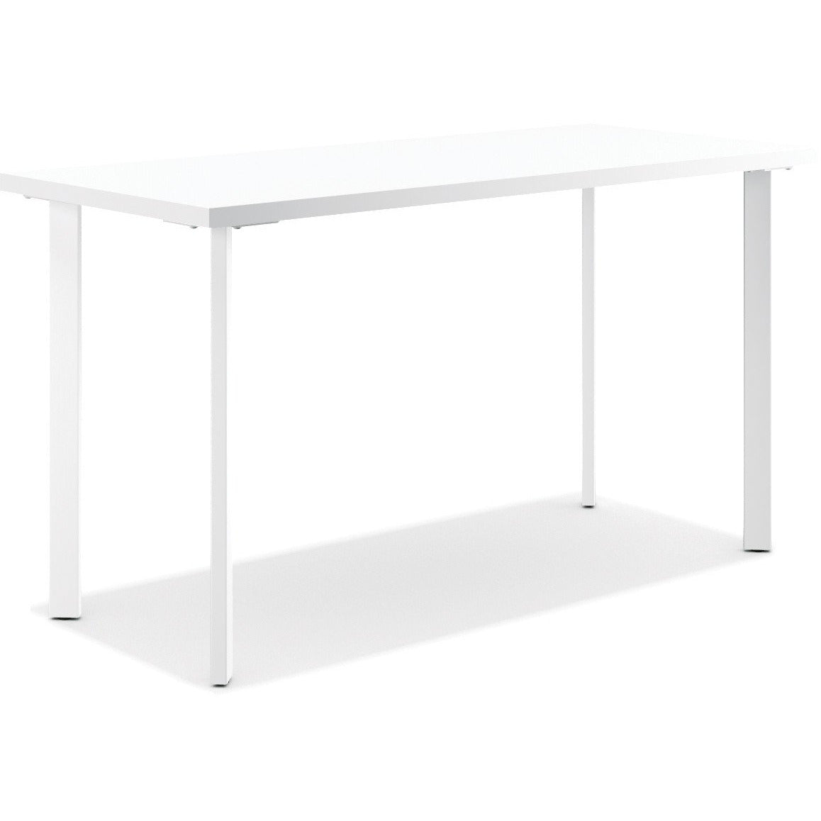 Coze Table Desk with Post Legs