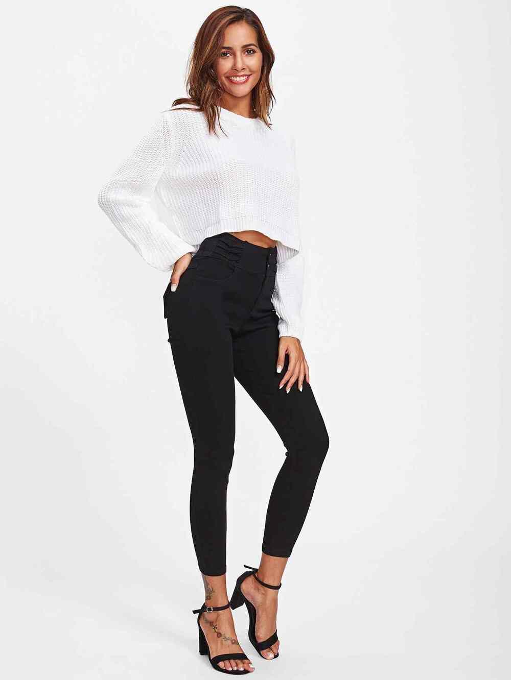High Waist Skinny Jeans - PGP Style