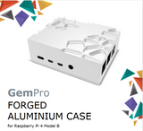 Akasa GemPro Forged Aluminum Case for Raspberry Pi 4 Model B|A-RA09-M2S