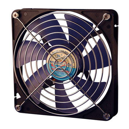 120MM,Super Slient Case Fan,2 Ball Bearing with Fan Guard and Control Bracket,SLC-FD12025