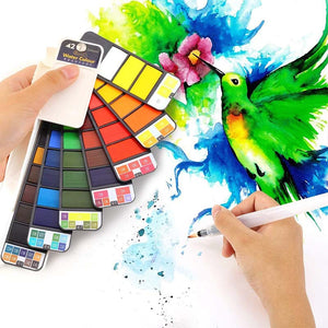 Foldable Watercolor Kit