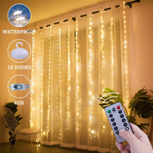 Load image into Gallery viewer, LED Curtain String Light