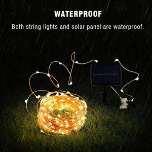 Garden Solar String Lights