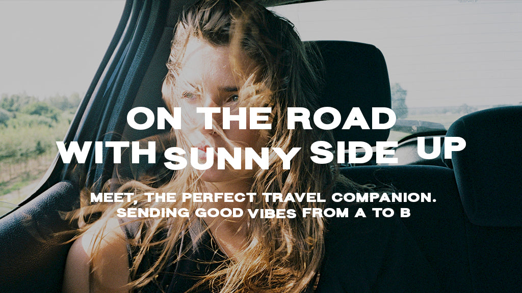 sunny side up bag on the road