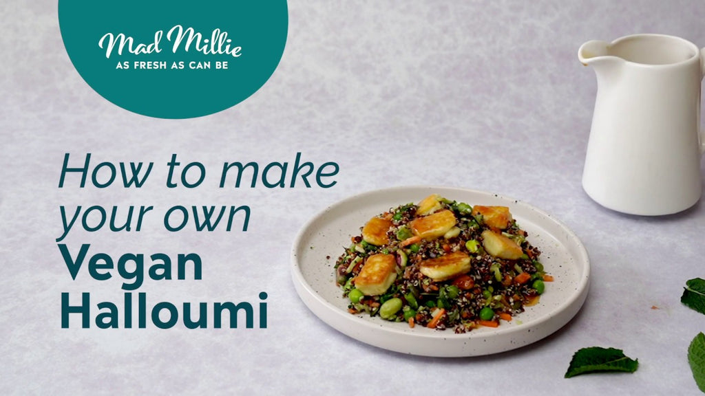 How to Make Vegan Halloumi