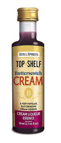 Top Shelf Butterscotch Cream