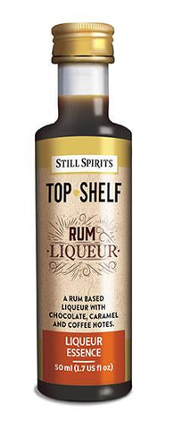 Top Shelf Rum Liqueur
