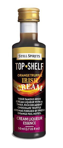 Top Shelf Orange Truffle Irish Cream Liqueur