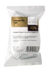 Vintner's Harvest Champagne Wire Cages x 10