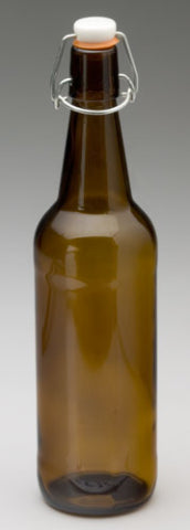 Copper Tun Amber Flip Top Bottle 750ml - Case 12