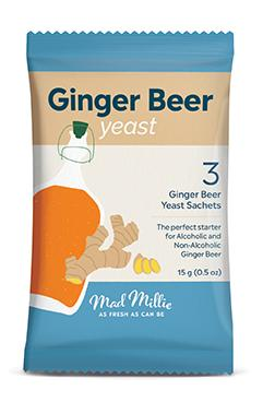 Mad Millie Ginger Beer Yeast - 3 pack (New Design)