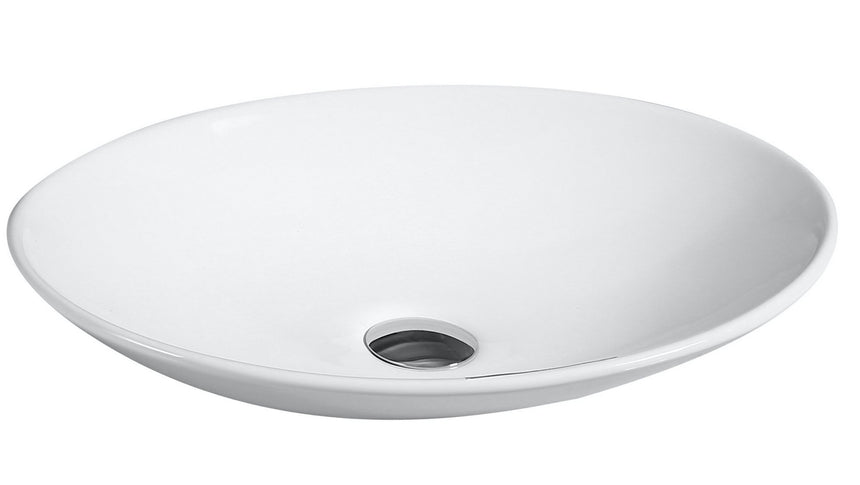 Oval Vanity Basin (Counter Top) - Perth Home Renovator
