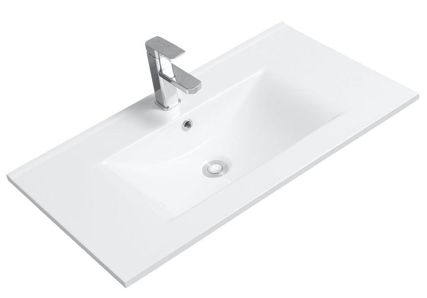 Rectangular Vanity Basin (Counter Top Mount) - Perth Home Renovator