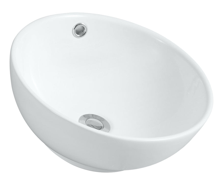 Round Vanity Basin (Counter Top Mount) - Perth Home Renovator