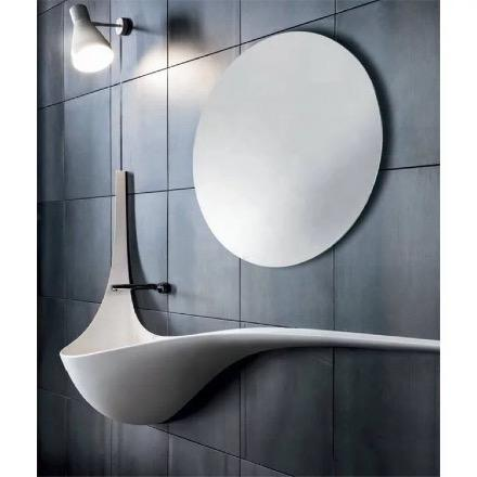 Unique Wave Wall Basin - Perth Home Renovator