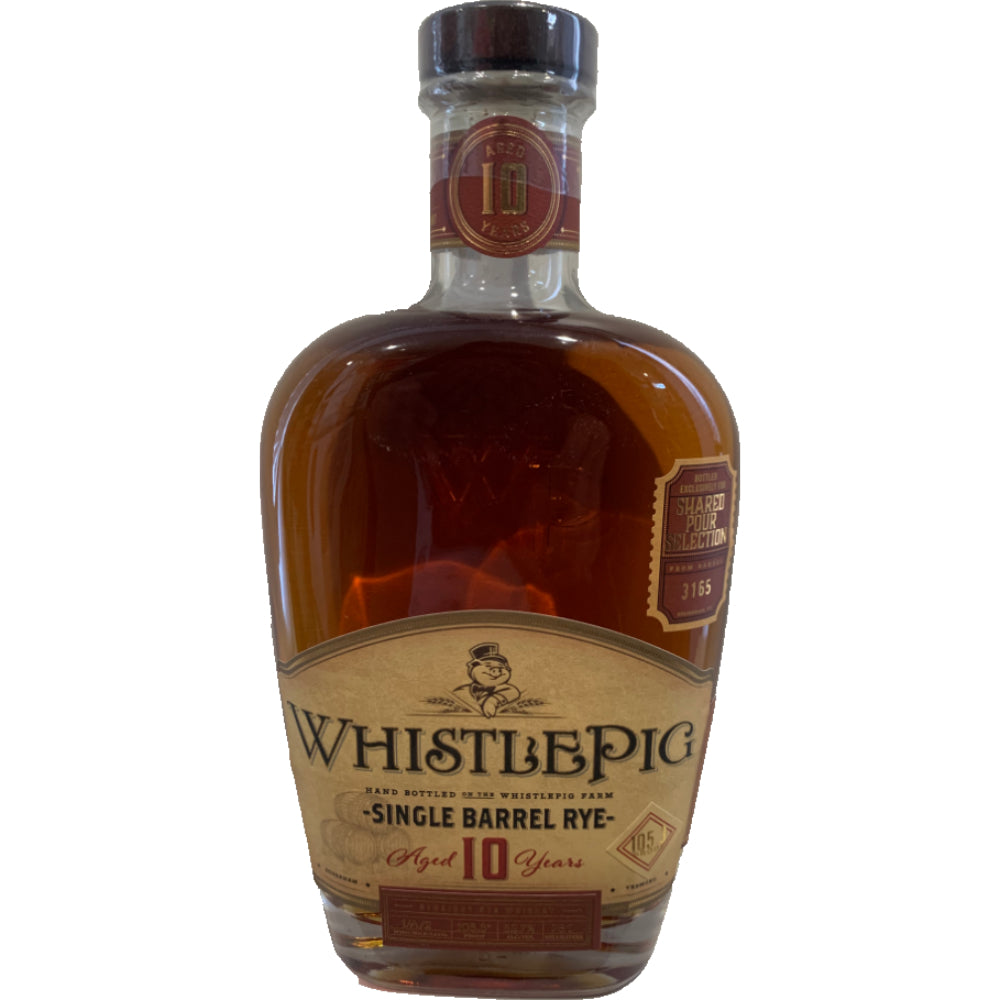 "WhistlePig  Single Barrel ""Hamlet's A Tale of Two Swine Part 1"" 105.3 Proof"