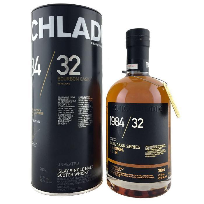 Buy Bruichladdich 1984/32 Rare Cask Series online from the best online liquor store in the USA.