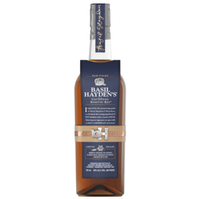 Buy Basil Hayden's Caribbean Reserve Rye online from the best online liquor store in the USA.