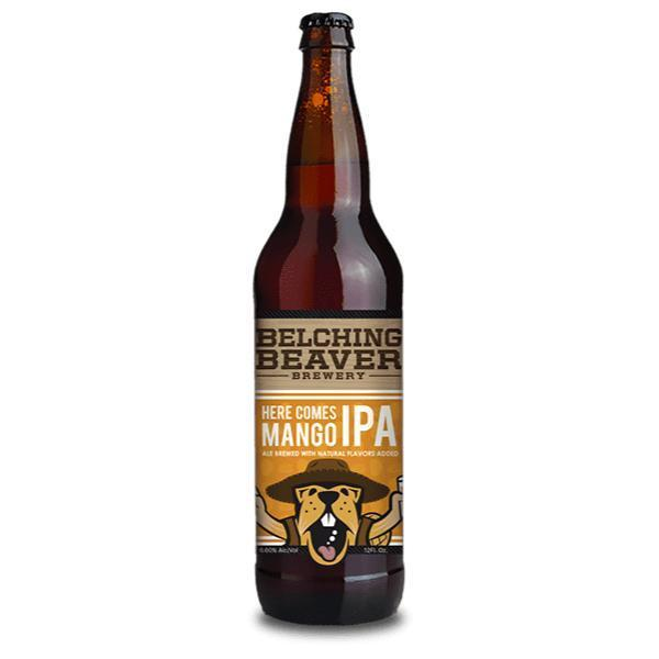 Buy Belching Beaver Here Comes Mango IPA online from the best online liquor store in the USA.