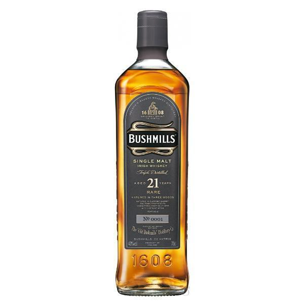 Buy Bushmills 21 Year Old Single Malt online from the best online liquor store in the USA.