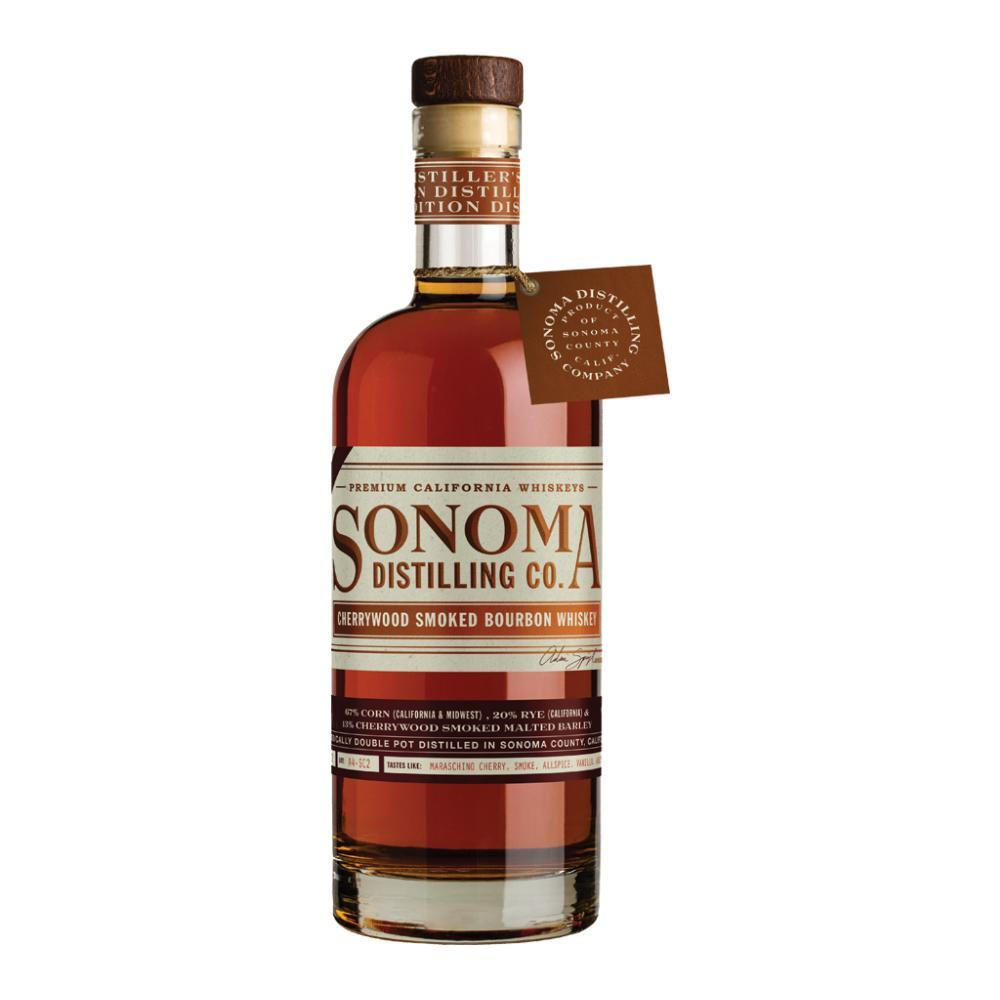 Sonoma Cherrywood Smoked Bourbon Whiskey Bourbon Sonoma Distilling Company
