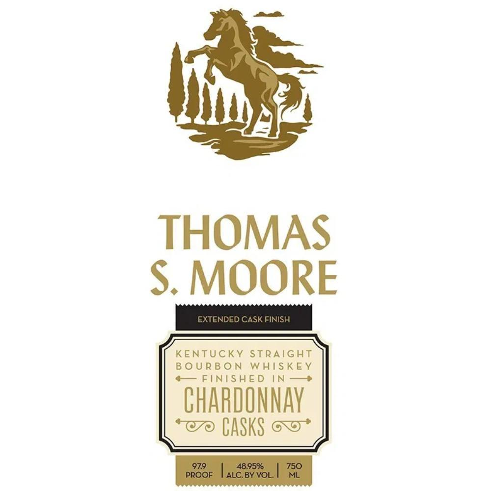 Thomas S. Moore Chardonnay Cask Finish Bourbon Whiskey Bourbon Thomas S. Moore