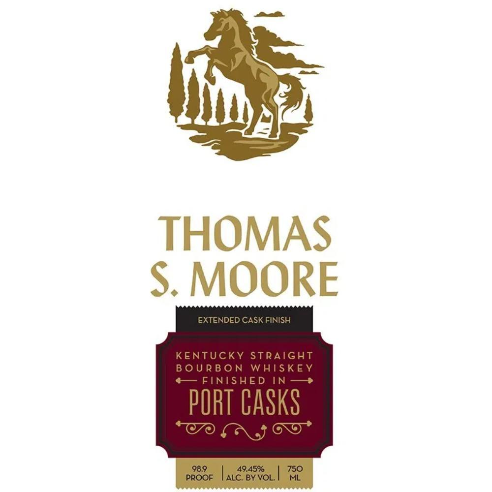 Thomas S. Moore Port Cask Finish Bourbon Bourbon Thomas S. Moore