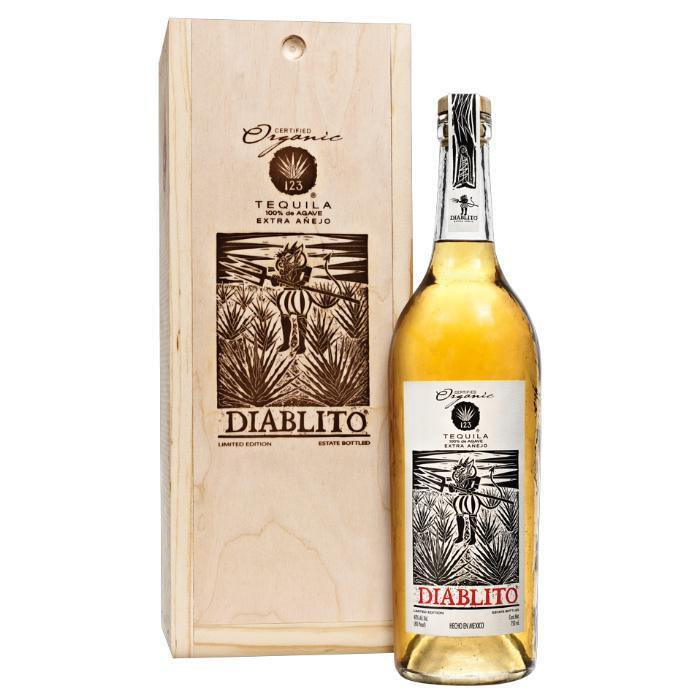 Buy 123 Organic Tequila Extra Añejo (Diablito) online from the best online liquor store in the USA.