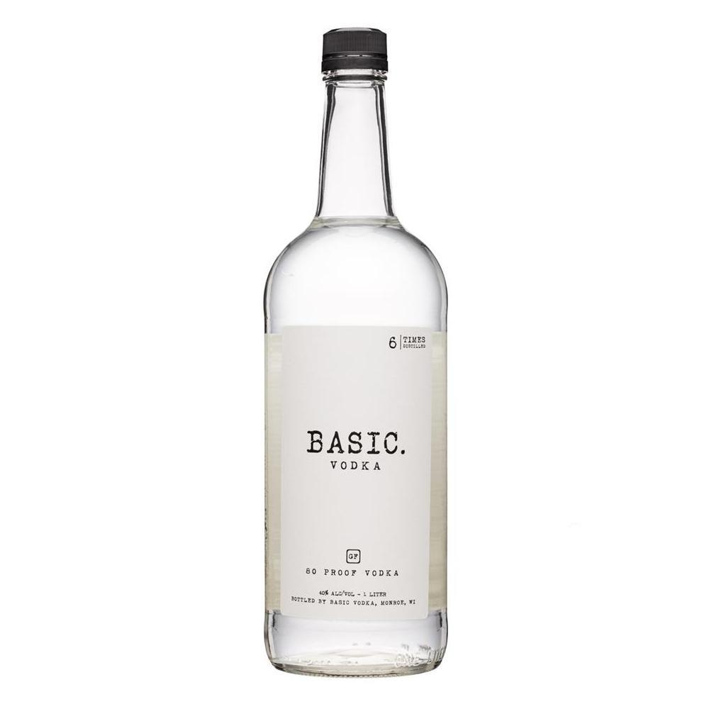 Buy Basic Vodka online from the best online liquor store in the USA.