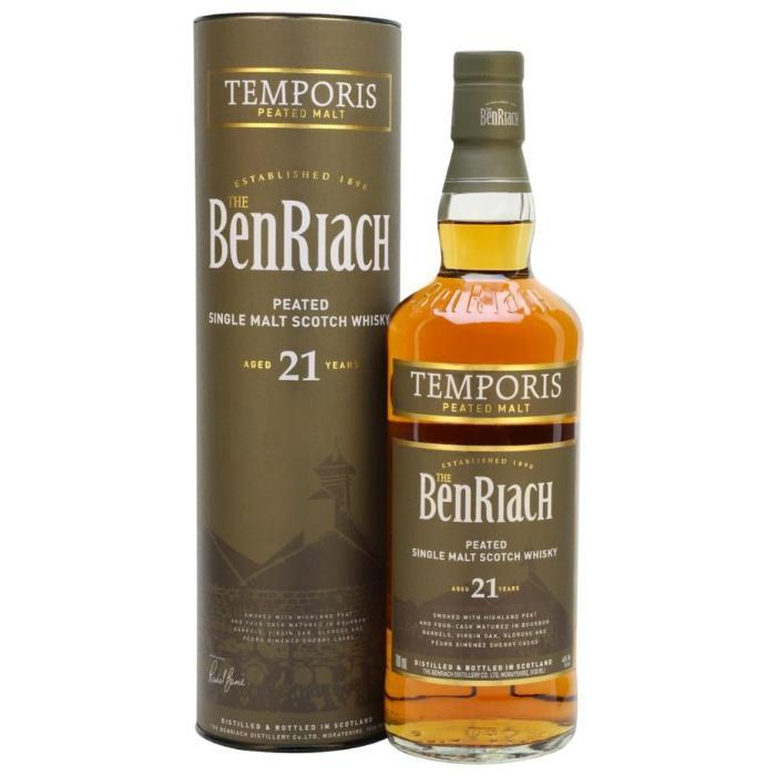 Buy BenRiach 21 Year Old Temporis online from the best online liquor store in the USA.