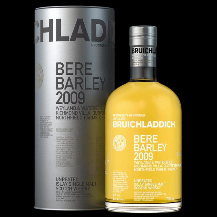 Buy Bruichladdich Bere Barley 2009 online from the best online liquor store in the USA.