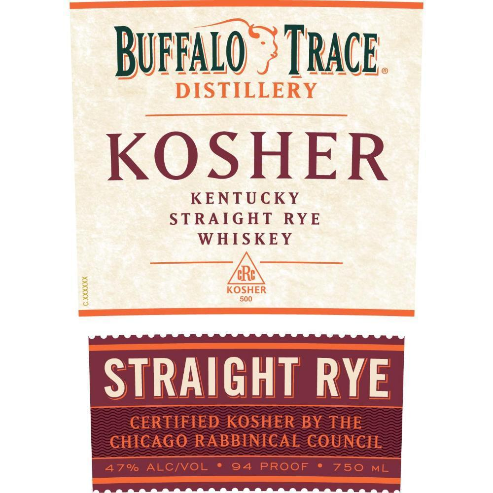Buy Buffalo Trace Kosher Straight Rye Whiskey online from the best online liquor store in the USA.