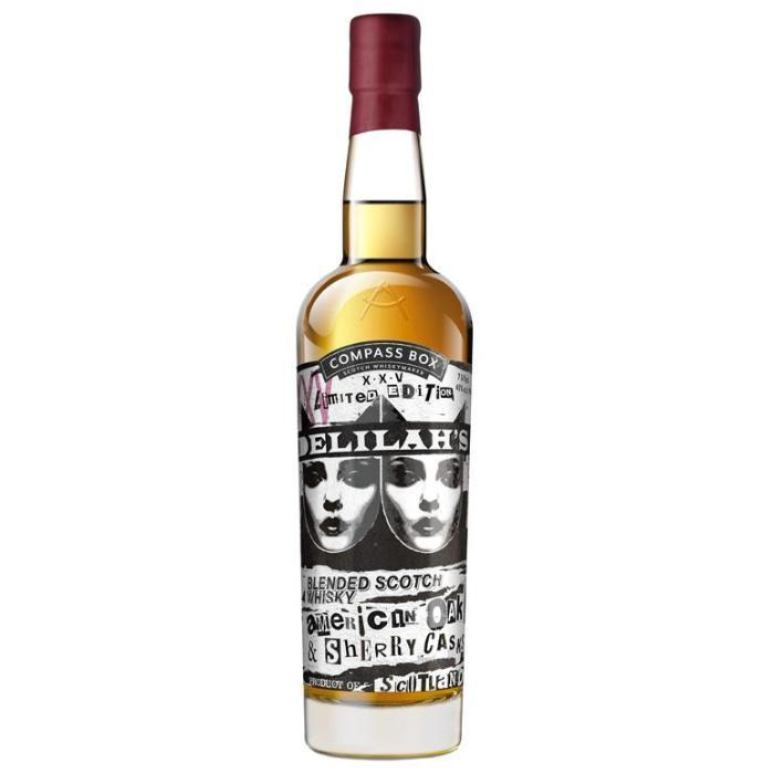 Buy Compass Box Delilah's XXV online from the best online liquor store in the USA.