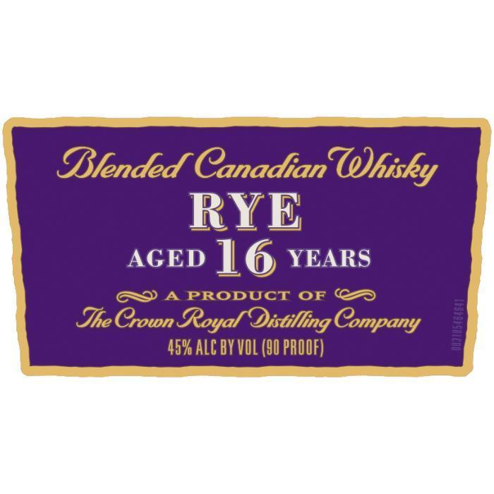 Buy Crown Royal Noble Collection 16 Year Old Rye online from the best online liquor store in the USA.
