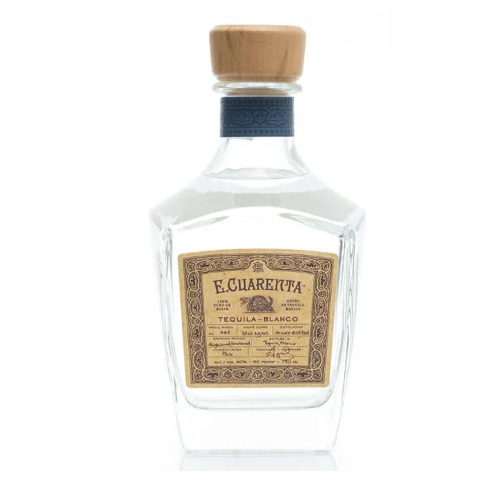 Buy E Cuarenta Tequila Blanco online from the best online liquor store in the USA.