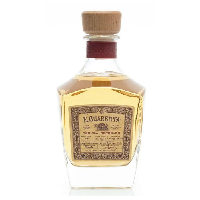 Buy E Cuarenta Tequila Reposado online from the best online liquor store in the USA.