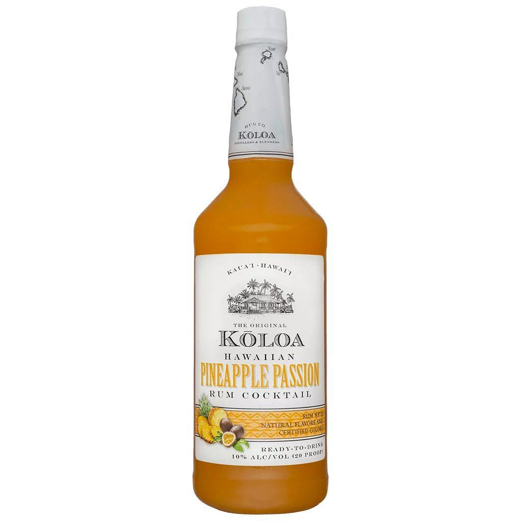 Buy Kōloa Hawaiian Pineapple Passion Rum Cocktail 1.75 Liter online from the best online liquor store in the USA.