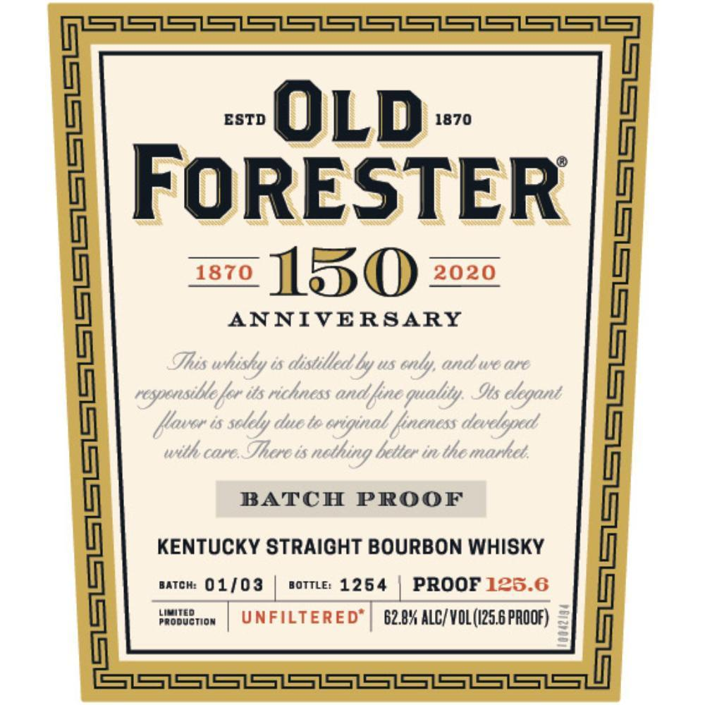 Buy Old Forester 150th Anniversary online from the best online liquor store in the USA.