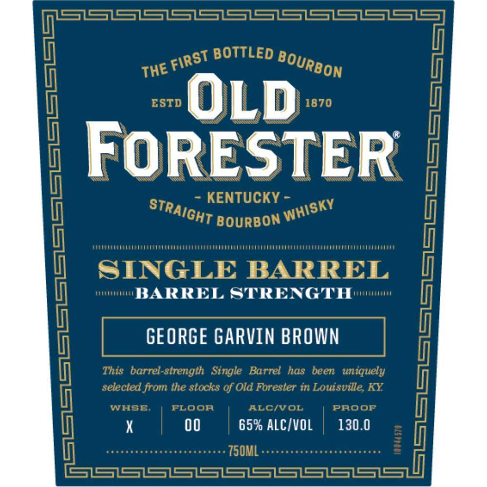 Buy Old Forester Single Barrel Barrel Strength online from the best online liquor store in the USA.