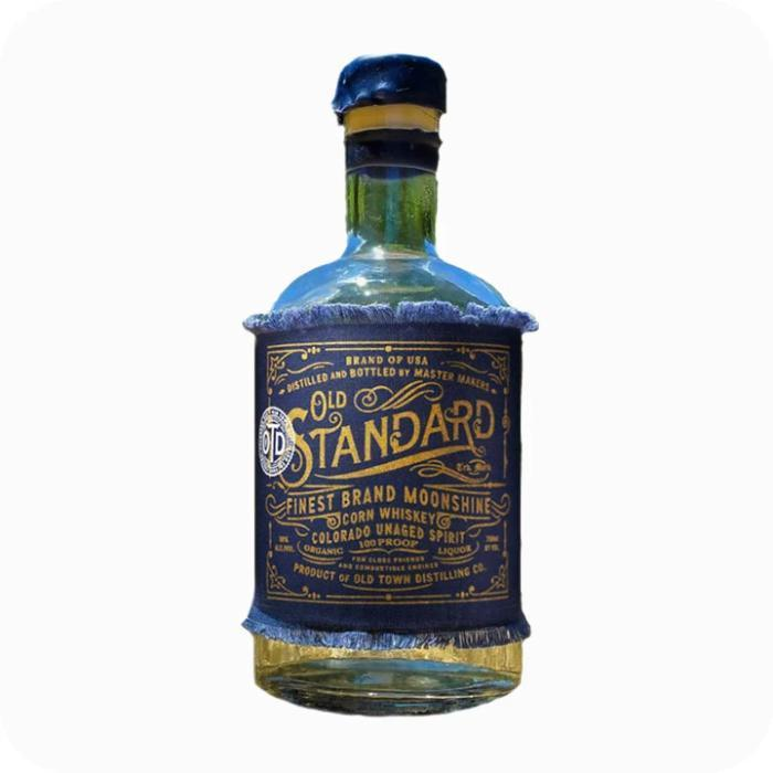 Buy Old Standard Organic Corn Whiskey 'Moonshine' online from the best online liquor store in the USA.
